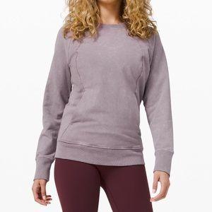 LULULEMON washed color pullover